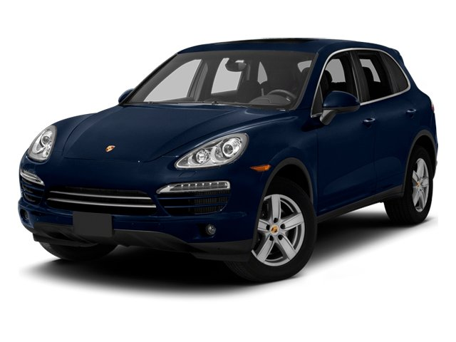 Dark Blue Metallic 2013 Porsche Cayenne Pictures Cayenne Utility 4D Diesel AWD (V6) photos front view