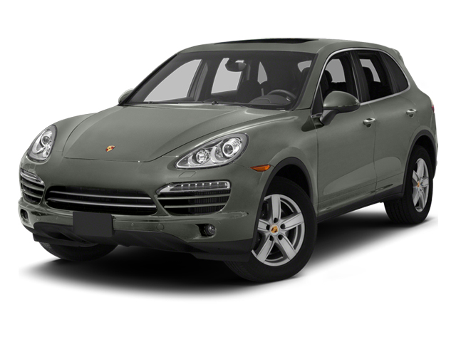 Classic Silver Metallic 2013 Porsche Cayenne Pictures Cayenne Utility 4D Diesel AWD (V6) photos front view