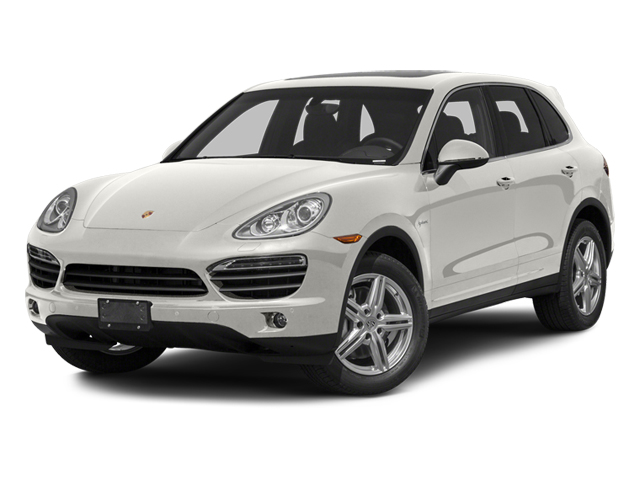 White 2013 Porsche Cayenne Pictures Cayenne Utility 4D S Hybrid AWD (V6) photos front view