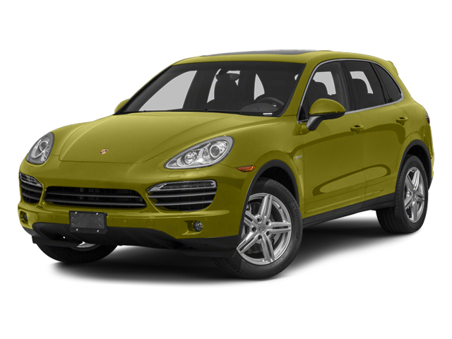 Peridot Metallic 2013 Porsche Cayenne Pictures Cayenne Utility 4D S Hybrid AWD (V6) photos front view