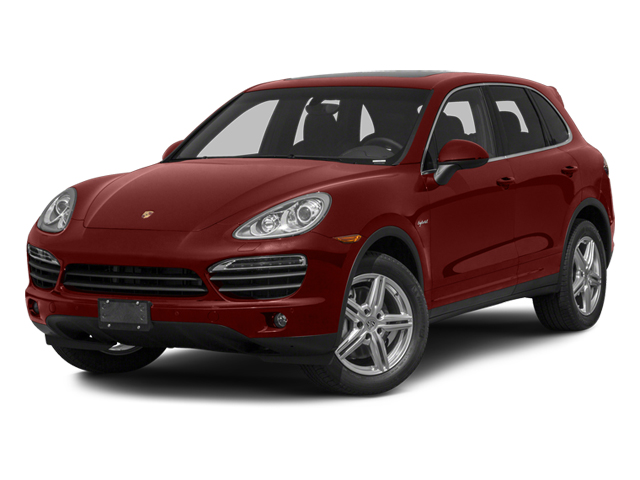 Auburn Metallic 2013 Porsche Cayenne Pictures Cayenne Utility 4D S Hybrid AWD (V6) photos front view