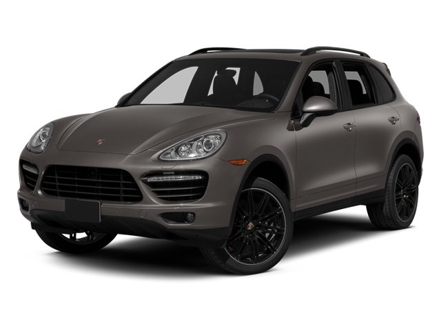 Meteor Grey Metallic 2013 Porsche Cayenne Pictures Cayenne Utility 4D Turbo AWD (V8) photos front view