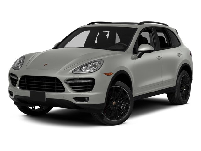 Classic Silver Metallic 2013 Porsche Cayenne Pictures Cayenne Utility 4D Turbo AWD (V8) photos front view