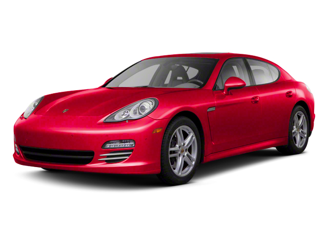 Carmine Red Metallic 2013 Porsche Panamera Pictures Panamera Hatchback 4D 4 AWD photos front view