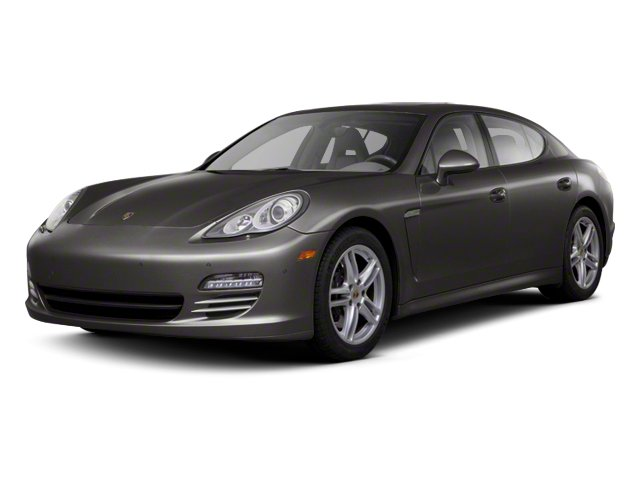 Carbon Grey Metallic 2013 Porsche Panamera Pictures Panamera Hatchback 4D Turbo AWD photos front view