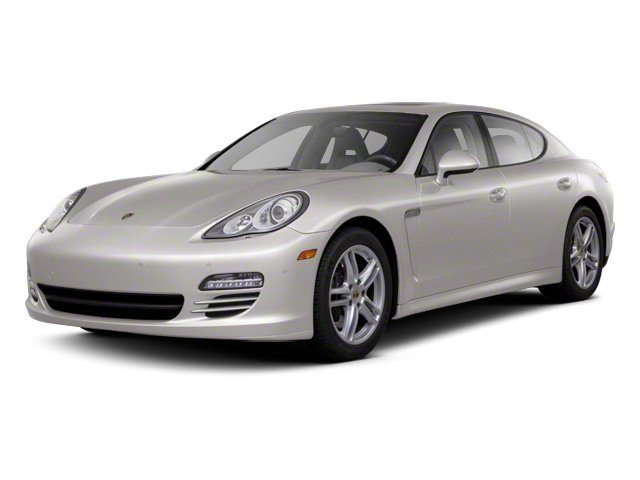 Platinum Silver Metallic 2013 Porsche Panamera Pictures Panamera Hatchback 4D 4 AWD photos front view
