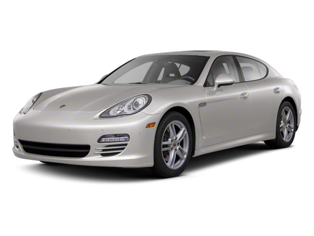 Platinum Silver Metallic 2013 Porsche Panamera Pictures Panamera Hatchback 4D Turbo AWD photos front view