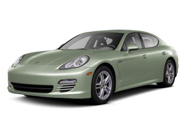 Crystal Green Metallic 2013 Porsche Panamera Pictures Panamera Hatchback 4D 4 AWD photos front view