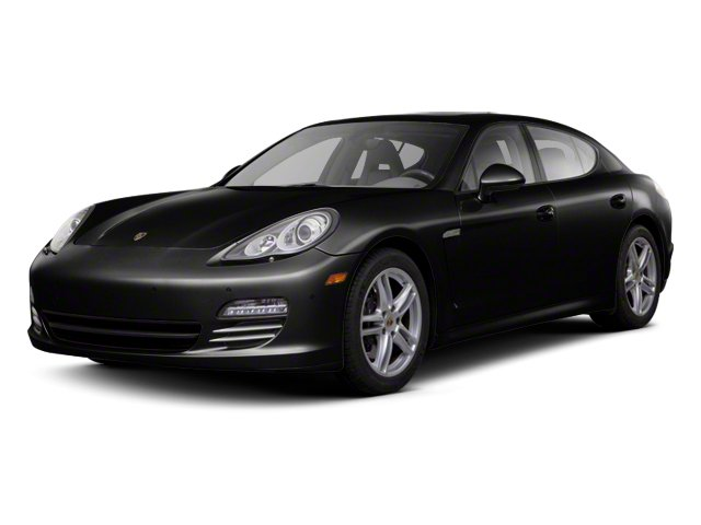 Black 2013 Porsche Panamera Pictures Panamera Hatchback 4D 4 AWD photos front view