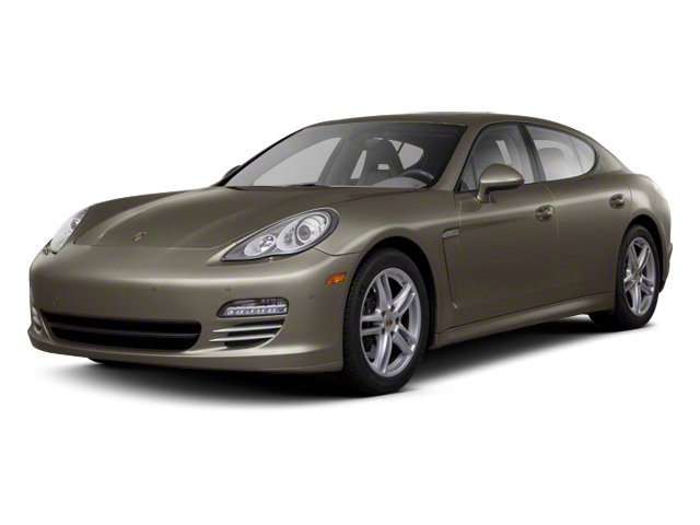 Topaz Brown Metallic 2013 Porsche Panamera Pictures Panamera Hatchback 4D Turbo AWD photos front view