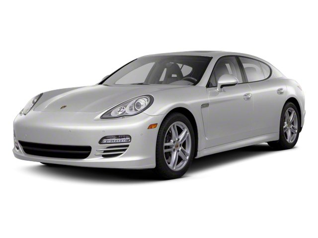 GT Silver Metallic 2013 Porsche Panamera Pictures Panamera Hatchback 4D Turbo AWD photos front view