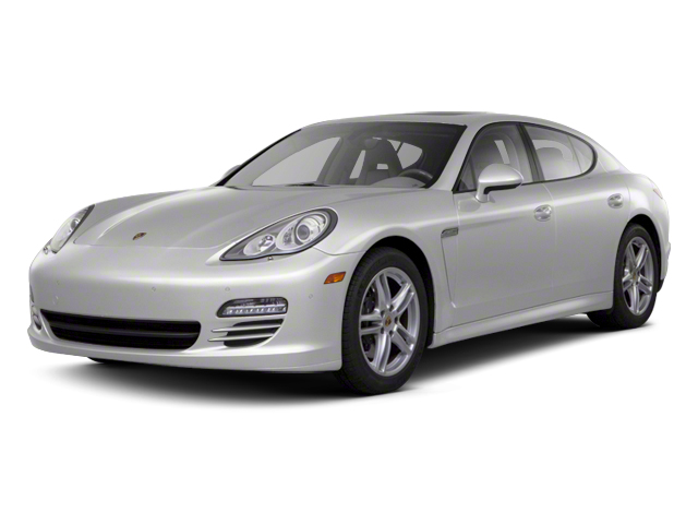 GT Silver Metallic 2013 Porsche Panamera Pictures Panamera Hatchback 4D 4 AWD photos front view