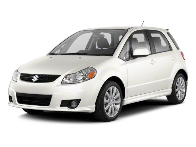 Pearl White 2013 Suzuki SX4 Pictures SX4 Hatchback 5D I4 photos front view