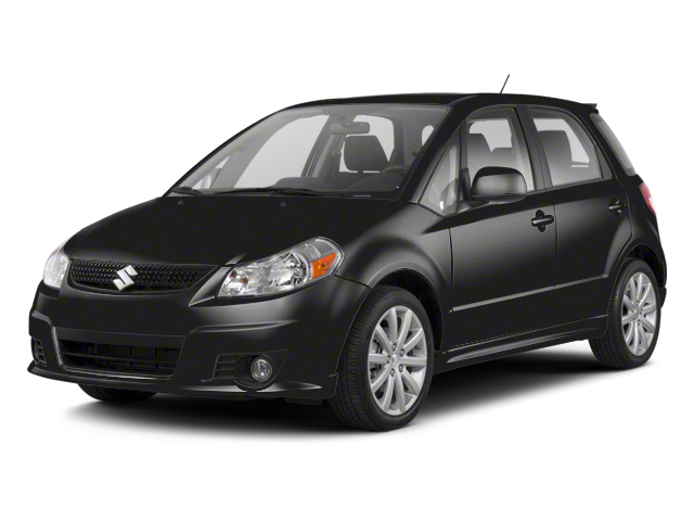 Super Black Metallic 2013 Suzuki SX4 Pictures SX4 Hatchback 5D I4 photos front view