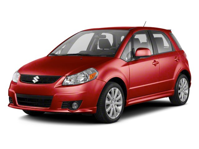 Solid Red 2013 Suzuki SX4 Pictures SX4 Hatchback 5D I4 photos front view