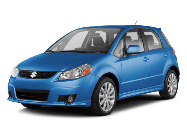 Boost Blue Metallic 2013 Suzuki SX4 Pictures SX4 Hatchback 5D I4 photos front view