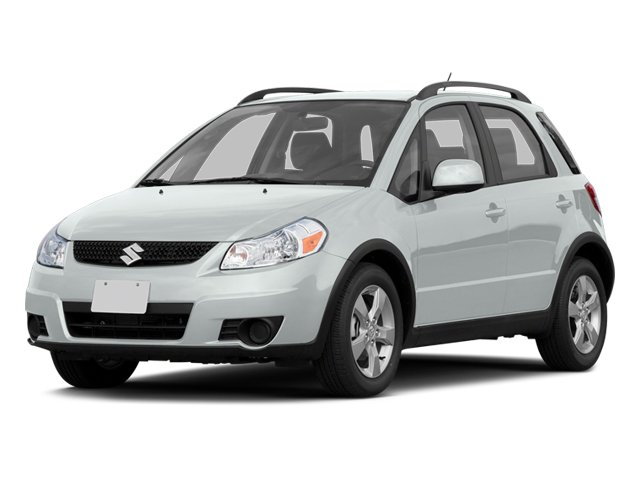 Pearl White 2013 Suzuki SX4 Pictures SX4 Hatchback 5D AWD I4 photos front view