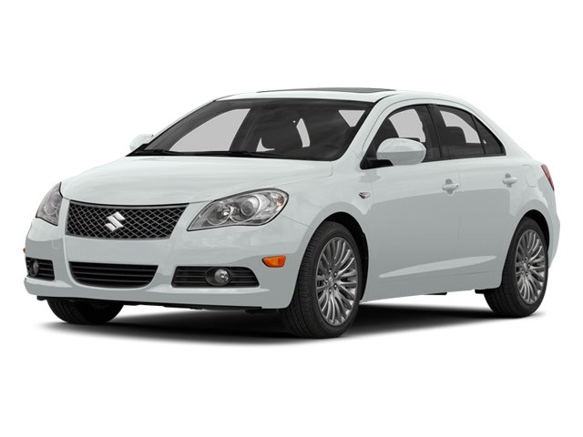 Pearl White 2013 Suzuki Kizashi Pictures Kizashi Sedan 4D photos front view