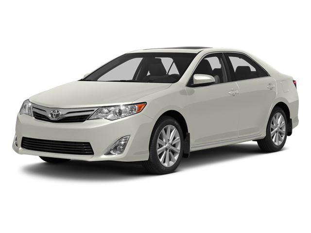 Champagne Mica 2013 Toyota Camry Pictures Camry Sedan 4D XLE V6 photos front view