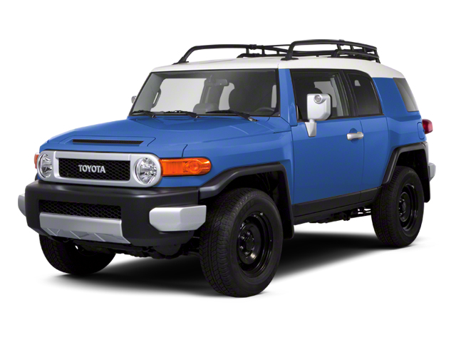 Cavalry Blue 2013 Toyota FJ Cruiser Pictures FJ Cruiser Utility 4D 2WD V6 photos front view