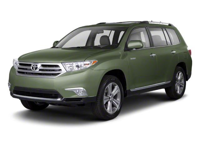 Cypress Pearl 2013 Toyota Highlander Pictures Highlander Utility 4D 2WD I4 photos front view