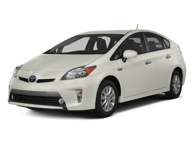 Blizzard Pearl 2013 Toyota Prius Plug-In Pictures Prius Plug-In Liftback 5D Plug-In Advanced Hybrid photos front view