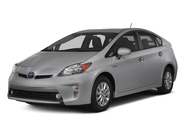 Classic Silver Metallic 2013 Toyota Prius Plug-In Pictures Prius Plug-In Liftback 5D Plug-In Advanced Hybrid photos front view