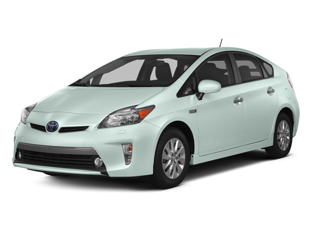 Sea Glass Pearl 2013 Toyota Prius Plug-In Pictures Prius Plug-In Liftback 5D Plug-In Advanced Hybrid photos front view