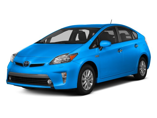 Clear Water Blue Metallic 2013 Toyota Prius Plug-In Pictures Prius Plug-In Liftback 5D Plug-In Advanced Hybrid photos front view