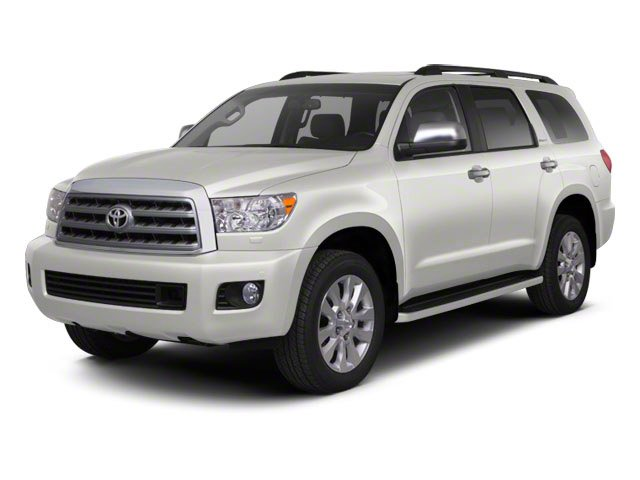 Blizzard Pearl 2013 Toyota Sequoia Pictures Sequoia Utility 4D Platinum 2WD V8 photos front view