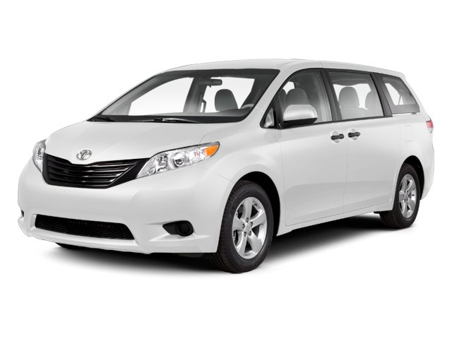 Super White 2013 Toyota Sienna Pictures Sienna Wagon 5D LE AWD V6 photos front view