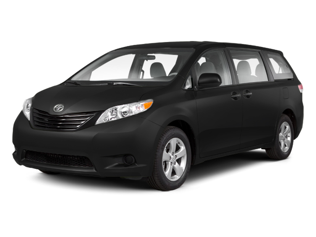 Black 2013 Toyota Sienna Pictures Sienna Wagon 5D LE AWD V6 photos front view