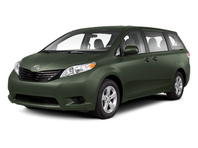 Cypress Pearl 2013 Toyota Sienna Pictures Sienna Wagon 5D LE AWD V6 photos front view