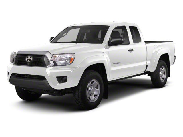 Super White 2013 Toyota Tacoma Pictures Tacoma Base Access Cab 4WD V6 photos front view