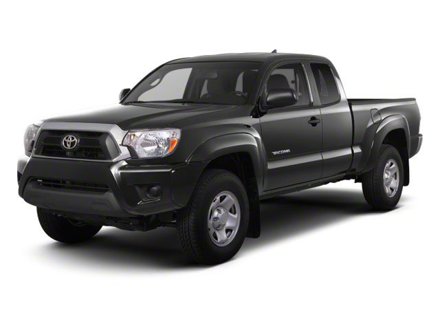 Magnetic Gray Metallic 2013 Toyota Tacoma Pictures Tacoma Base Access Cab 4WD V6 photos front view