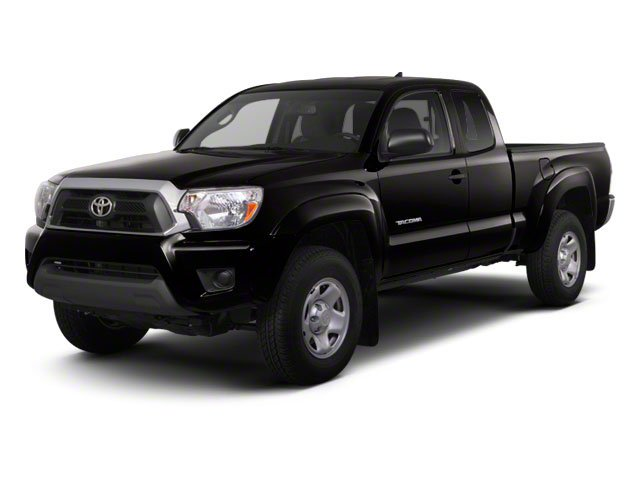 Black 2013 Toyota Tacoma Pictures Tacoma Base Access Cab 4WD V6 photos front view