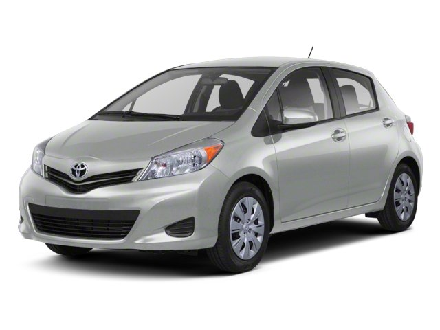 Classic Silver Metallic 2013 Toyota Yaris Pictures Yaris Hatchback 5D LE I4 photos front view