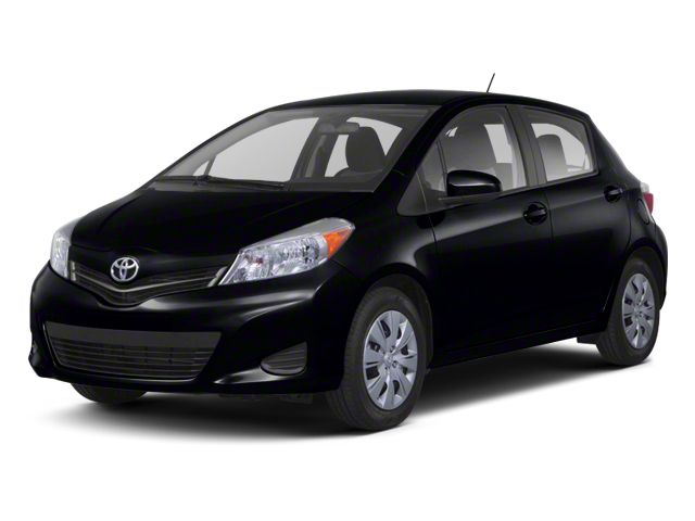 Black Sand Pearl 2013 Toyota Yaris Pictures Yaris Hatchback 5D LE I4 photos front view
