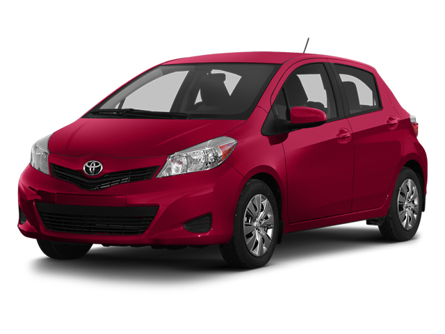 Absolutely Red 2013 Toyota Yaris Pictures Yaris Hatchback 5D LE I4 photos front view