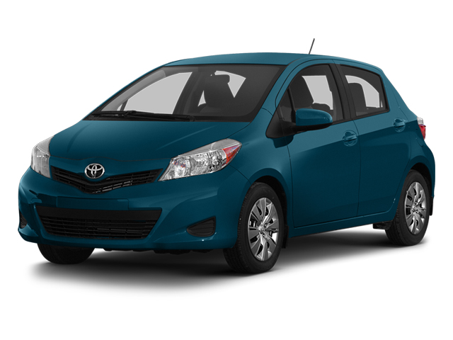 Lagoon Blue Mica 2013 Toyota Yaris Pictures Yaris Hatchback 5D LE I4 photos front view
