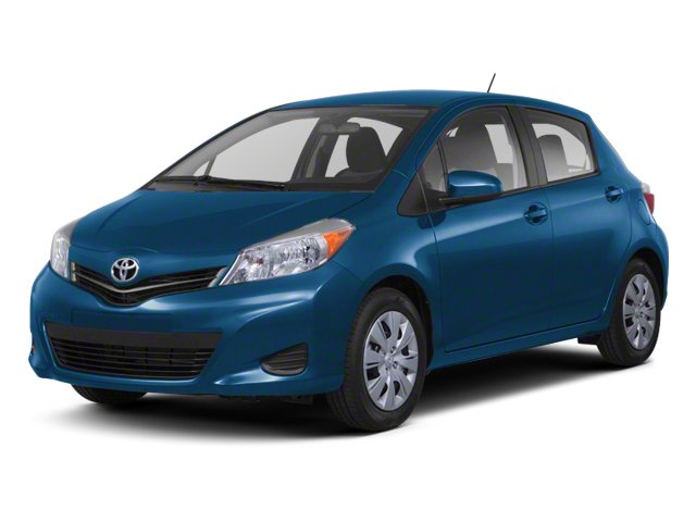 Blazing Blue Pearl 2013 Toyota Yaris Pictures Yaris Hatchback 5D LE I4 photos front view