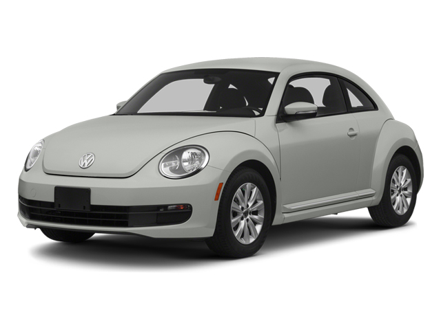 Reflex Silver Metallic 2013 Volkswagen Beetle Coupe Pictures Beetle Coupe 2D 2.5 I5 photos front view