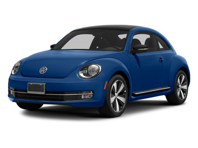 Reef Blue Metallic 2013 Volkswagen Beetle Coupe Pictures Beetle Coupe 2D 2.0T R-Line I4 Turbo photos front view