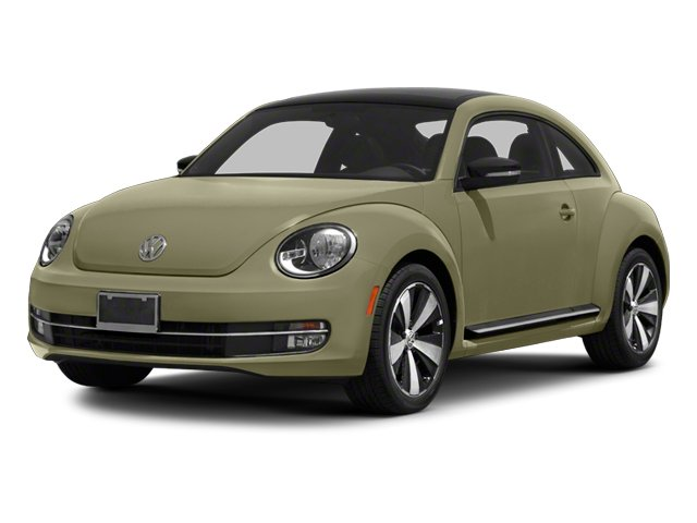 Moonrock Silver Metallic 2013 Volkswagen Beetle Coupe Pictures Beetle Coupe 2D 2.0T R-Line I4 Turbo photos front view