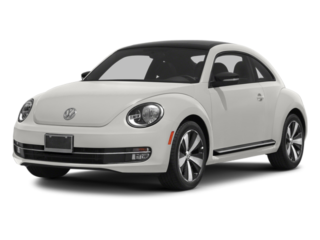 Candy White 2013 Volkswagen Beetle Coupe Pictures Beetle Coupe 2D 2.0T R-Line I4 Turbo photos front view