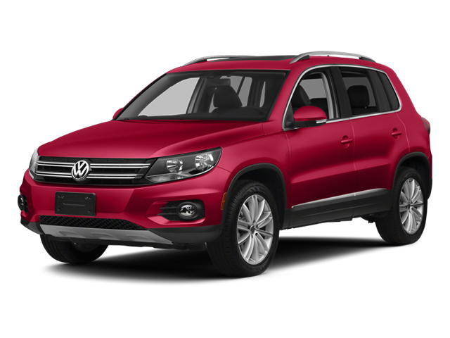 Wild Cherry Metallic 2013 Volkswagen Tiguan Pictures Tiguan Utility 4D SEL 2WD I4 Turbo photos front view