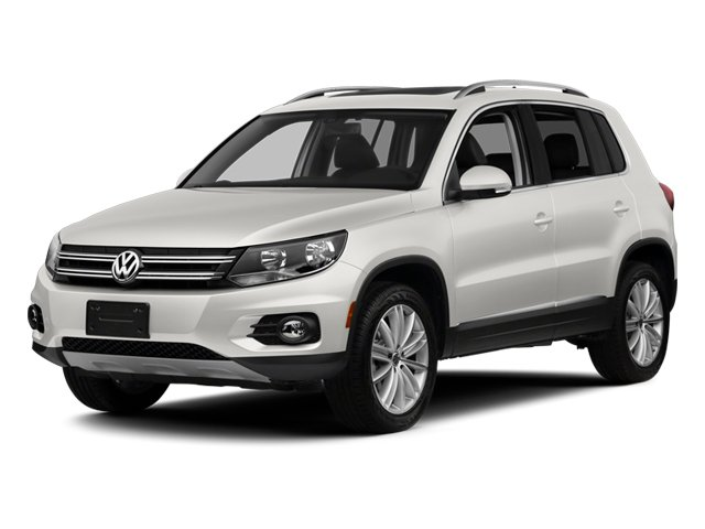 Candy White 2013 Volkswagen Tiguan Pictures Tiguan Utility 4D SEL 2WD I4 Turbo photos front view