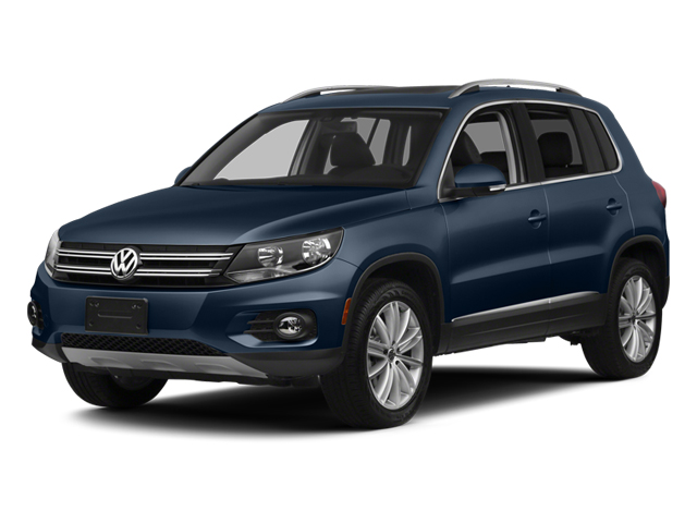 Night Blue Metallic 2013 Volkswagen Tiguan Pictures Tiguan Utility 4D SEL 2WD I4 Turbo photos front view