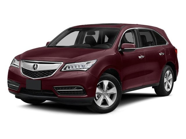 Dark Cherry Pearl 2014 Acura MDX Pictures MDX Utility 4D 2WD V6 photos front view