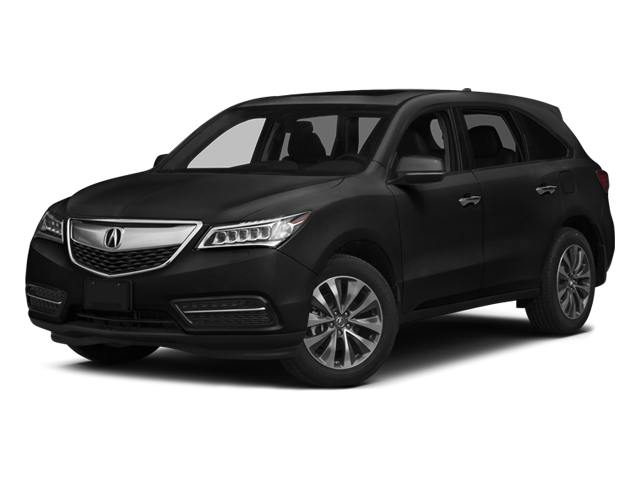 Crystal Black Pearl 2014 Acura MDX Pictures MDX Utility 4D Technology DVD AWD V6 photos front view